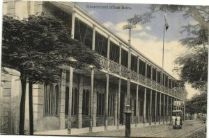 PC CPA MOZAMBIQUE, GOVERNMENT OFFICES BEIRA, Vintage Postcard (b26751)
