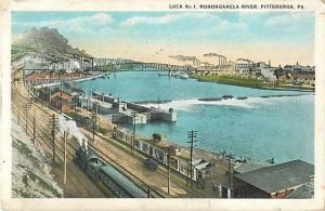 W/B Lock No.1 Monongahela River Pittsburg Pennsylvania PA