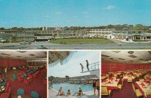 HYANNIS , CAPE COD , Massachusetts , 50-60s ; Hyannis Harborview Motel, 4-views