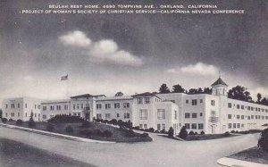 Califorinia Oakland Beulah Rest Home Artvue