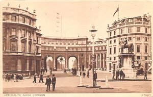 Admiralty Arch London United Kingdom, Great Britain, England 1930 Missing Stamp