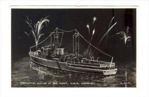RP  Coronation review of the Fleet, H.M.S. SURPRISE , 40-50s