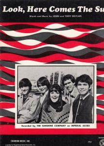 Look Here Comes The Sun The Sunshine Company XL Sheet Music