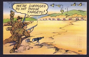 We're supposed to hit those targets ... – WWII linen