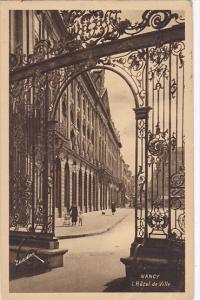France Nancy L'Hotel de Ville 1928