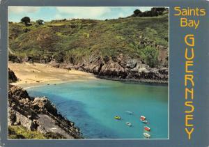 Postcard Saints Bay, Guernsey, Channel Islands C67