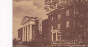Main Building, Greensboro College, North Carolina, PU-1946