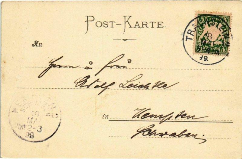 CPA AK Traunstein - Der Traunstein GERMANY (1034353)