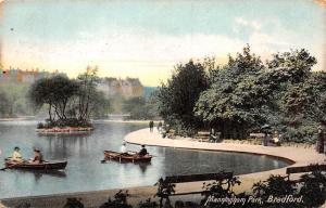 Bradford Manningham Park Boats Promenade 1908