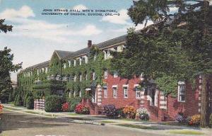 John Straub Hall, Men's Dormitory, University of Oregon, Eugene, Oregon,  30-40s