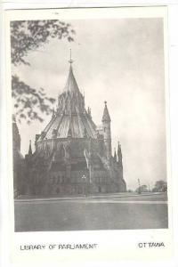 RP, Library Of Parliament, Ottawa, Ontario, Canada, 1930-1950s