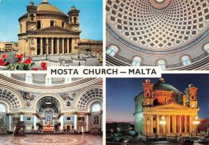 Mosta Church Malta multiviews Kirche Eglise