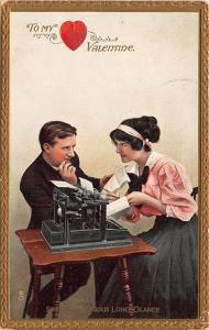 Valentines Day Ticks and Clicks Tuck #102 Postcard 2