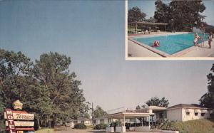 Swimming Pool, Terrace Motel, NATCHEZ, Mississippi, 40-60´
