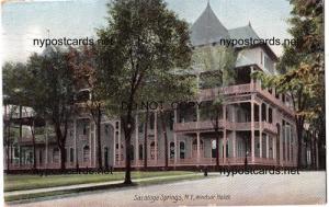 Windsor Hotel, Saratoga Springs NY