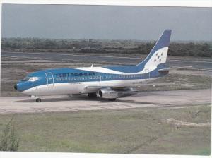 TAN SAHSA Boeing 737-2A3 jet Airplane , BELIZE CITY , Belize , 1990