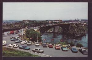 Reversing Falls Saint John NB Canada Postcard 3522