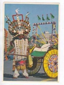 Colourful Ricksha Boy, Durban, South Africa, 1940-1960s