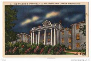 North Carolina Ridgecrest Baptist Assembly - Pritchell Hall , 30-40s