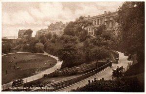 Union Terrace Gardens,Aberdeen,Scotland,UK BIN