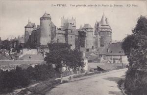 VITRE, Ille et Vilaine, France; Vue generale prise de la Route de Rennes, 00-10s