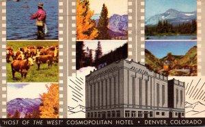 Colorado Denver The Cosmopolitan Hotel 1950