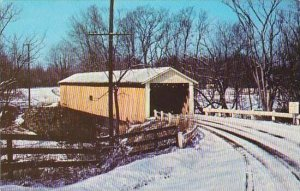 Ohio Rock Creek Ashtabula County Riverdale Covered Bridge