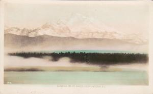 RP,  Sunrise on Mt. Baker from Victoria, British Columbia, Canada, 20-40s