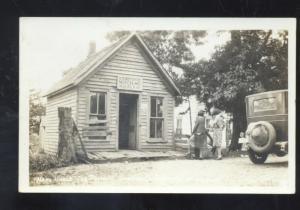 RPPC BRANSON MISSOURI SHEPHERD OF THE HILLS POST OFFICE MO. REAL PHOTO POSTCARD