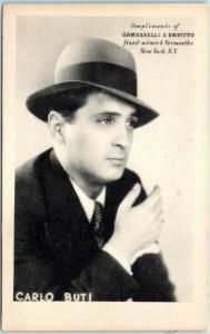 1937 NYC Advertising Postcard GAMBARELLI & DAVITTO Finest Wines & Vermouths