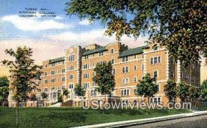 Tower Hall, Stephens College Columbia MO Unused