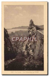 Old Postcard Corsica The Creeks of Piana