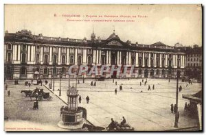Old Postcard Toulouse frontage From Capitol City Hotel