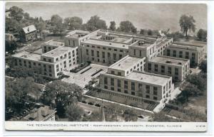 Technological Institute Northwestern University Evanston Illinois postcard