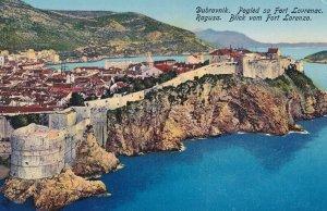 DUBROVNIK / RAGUSA, Croatia , 1900-10s : Blick vom Fort Lorenzo
