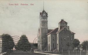 PETROLEA , Ontario , 1908 ; Town Hall
