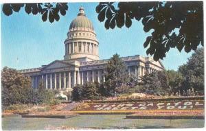 Pre-zip code View of Utah State Capitol Salt Lake City UT