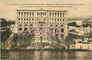 Old Postcard MONACO. - Mus�e Oc�anographique - c�t� Fa�ade of My