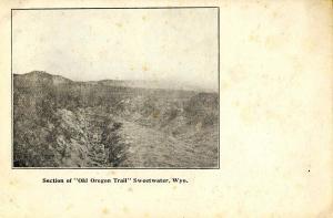 WY - Sweetwater. Ezra Meeker. Old Oregon Trail