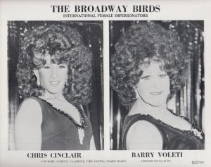 Broadway Birds Butlins Holiday Camp Female Impressionist Fire Eaters Media Photo