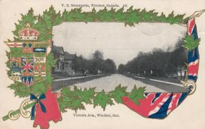 WINDSOR , Ontario , Canada , 1905 ; Victoria Avenue