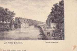 Le Vieux Bruxelles. Le Pont de Laeken Belgium , 00-10s