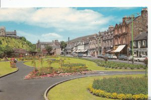 Scotland Postcard - Bank Street Gardens, Galashiels   A6715