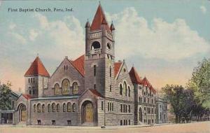 Indiana Peru First Baptist Church