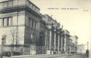Bruxelles, Belgium, België, la Belgique, Belgien Musee des Beaux Arts  Musee...