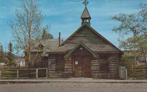 Original Old Log Church, Whitehorse, Yukon, Canada, 1940-1960s