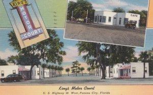 PANAMA CITY, Florida, 30-40s; King's Motor Court