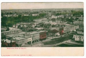 Aerial  View of Beloit Wisconsin