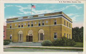 Alabama Decatur Post Office Curteich