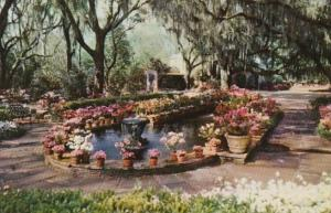 Alabama Mobile The Fountain and Pool At Bellingrath Gardens